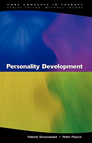 Personality development (Core Concepts in Therapy) from Open University Press