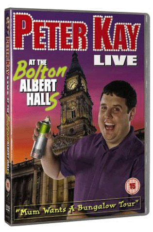 Peter Kay - Live At The Bolton Albert Halls [DVD] [2003] from Disney