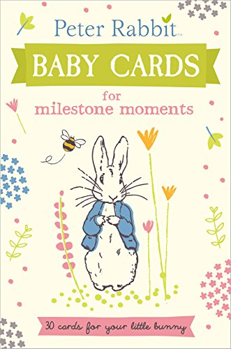 Peter Rabbit Baby Cards: for Milestone Moments (Beatrix Potter Gift Book) from Puffin