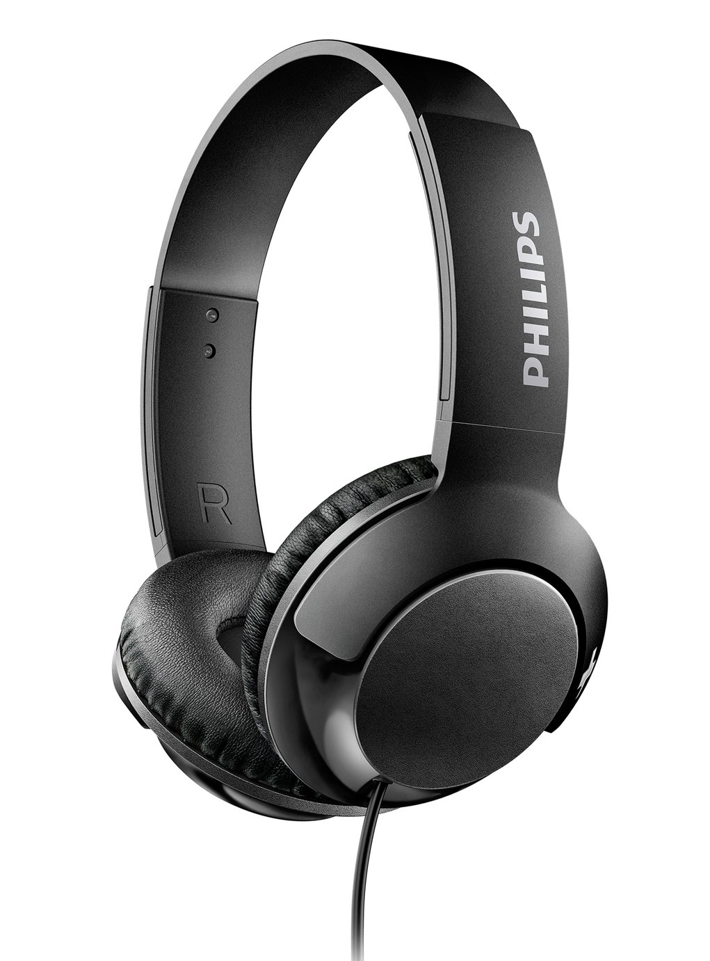 Philips SHL3070 On-Ear Headphones - Black from Philips