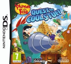 Phineas & Ferb : Quest for Cool Stuff (Nintendo DS) from 505 Games