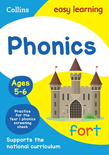 Phonics Ages 5-6: New Edition (Collins Easy Learning KS1) from Collins