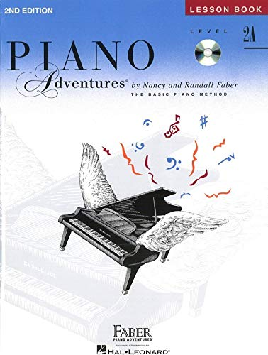 Piano Adventures: Level 2A Lesson And Theory Book/CD from Hal Leonard
