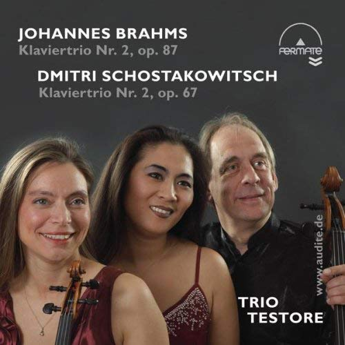 Piano Trios by Brahms (Op. 87) & Schostakowitsch (Op. 67) from AUDITE