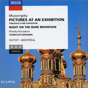 Pictures at An Exhibition (Montreal So/Dutoit) from Decca