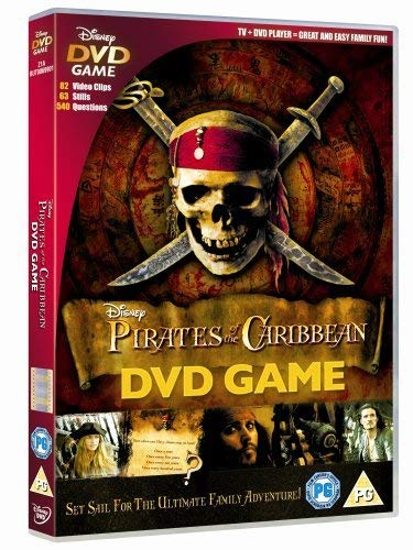 Pirates Of The Caribbean - DVD Game [Interactive DVD] from Disney