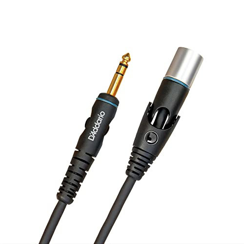 Planet Waves 5 feet Custom Series 1/4 inch XLR Male Balanced Microphone Cable from Planet Waves