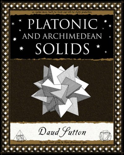 Platonic and Archimedean Solids (Wooden Books Gift Book) from Wooden Books