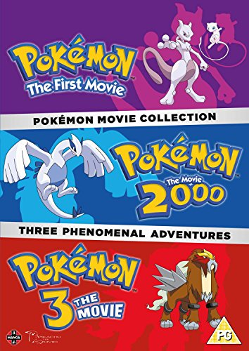 Pokemon Triple Movie Collection: Movies 1-3 [DVD] from Manga Entertainment