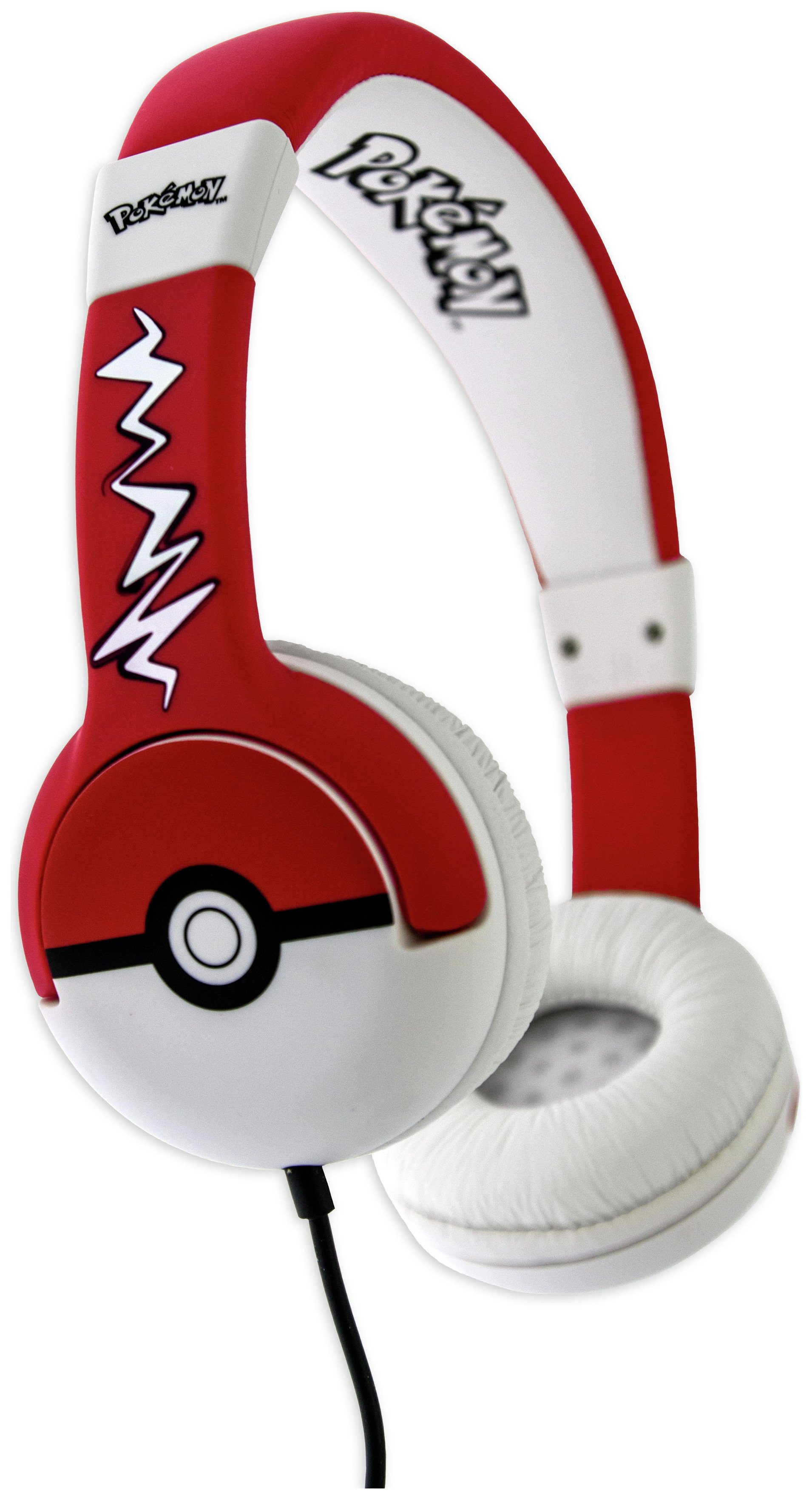 Pokemon Pokeball Kids On-Ear Headphones - Black / Red from Pokemon