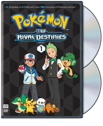 Pokemon: Black & White Rival Destinies Set 1 (2pc) [DVD] [Region 1] [NTSC] [US Import] from Warner Manufacturing