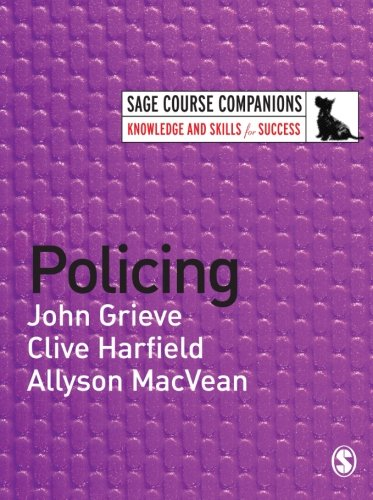 Policing (SAGE Course Companions series) from SAGE Publications Ltd