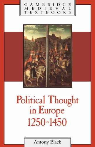 Political Thought Europe 1250-1450 (Cambridge Medieval Textbooks) from Cambridge University Press