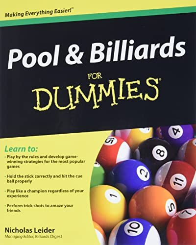 Pool and Billiards For Dummies from John Wiley & Sons