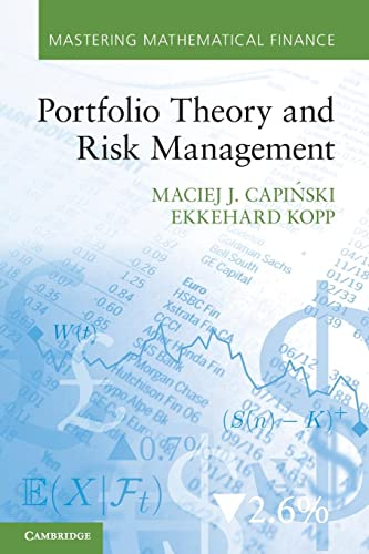 Portfolio Theory and Risk Management (Mastering Mathematical Finance) from Cambridge University Press