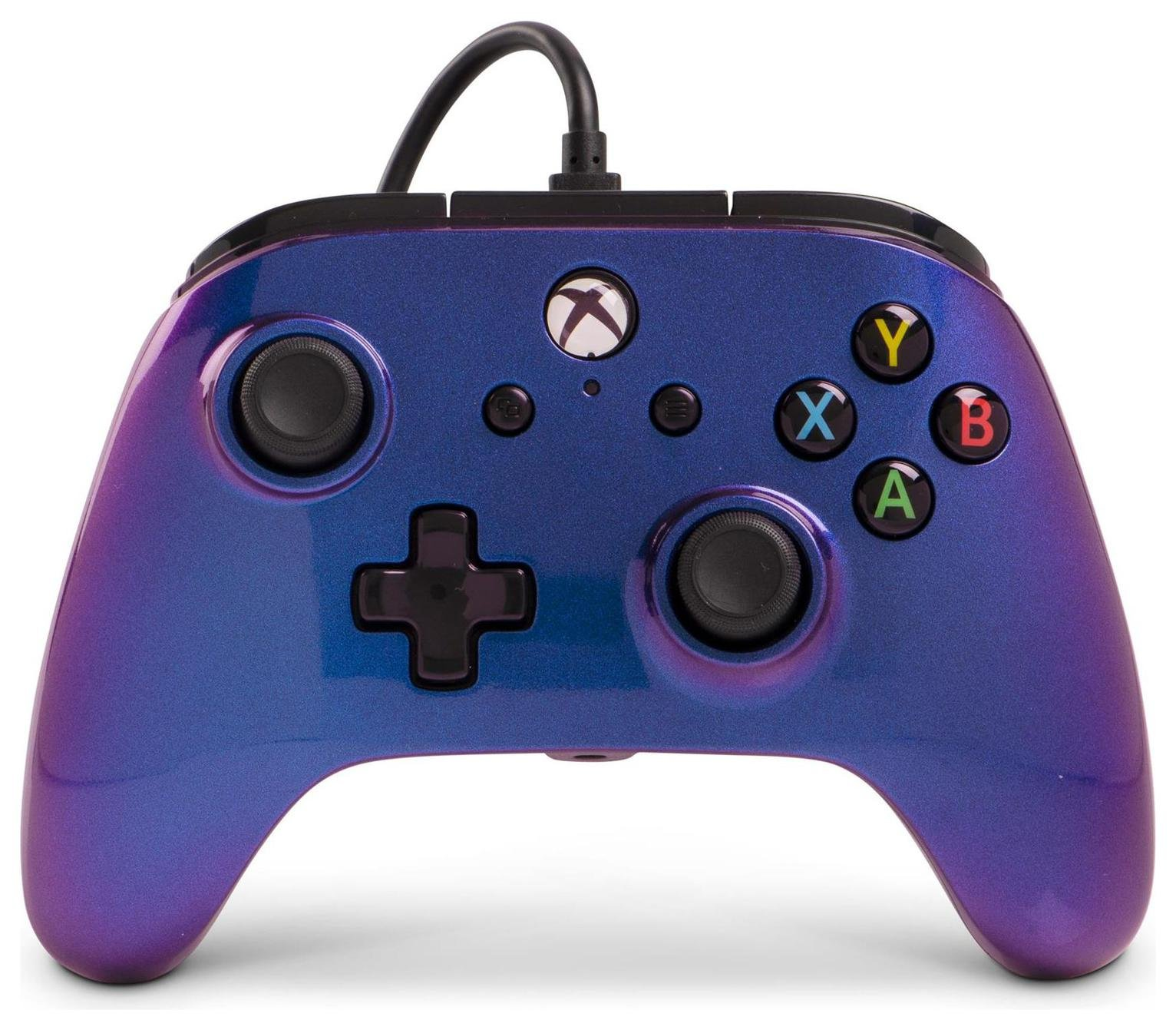 Enhanced Wired Controller for Xbox One - Cosmos Nebula from PowerA