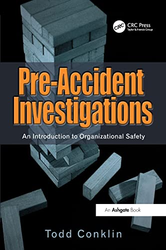 Pre-Accident Investigations from CRC Press