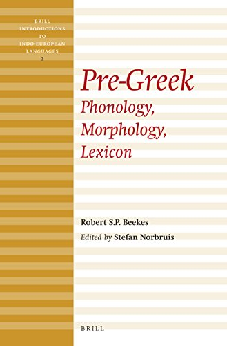 Pre-Greek: Phonology, Morphology, Lexicon (Brill Introductions to Indo-European Languages) from Brill