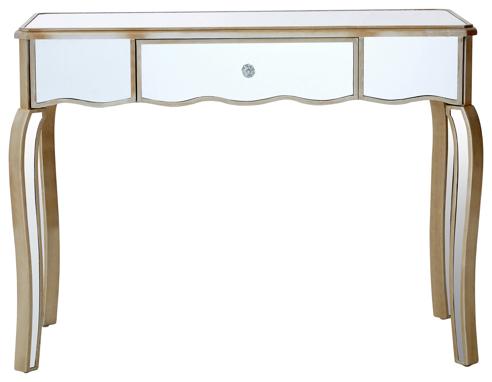 Premier Housewares Tiffany Mirror Finish Dressing Table. at Argos from Premier housewares