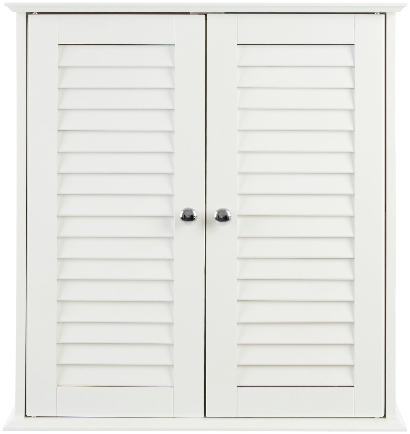 Premier Housewares Wooden Wall Cabinet - White at Argos from Premier housewares