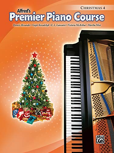 Premier Piano Course Christmas, Bk 4 from Alfred Music