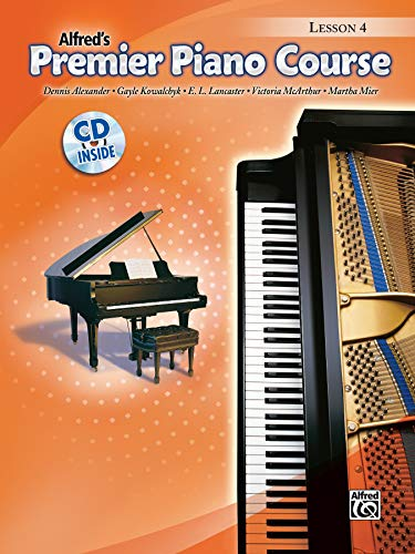 Premier Piano Course Lesson Book, Bk 4 (Book & CD) from Alfred Music