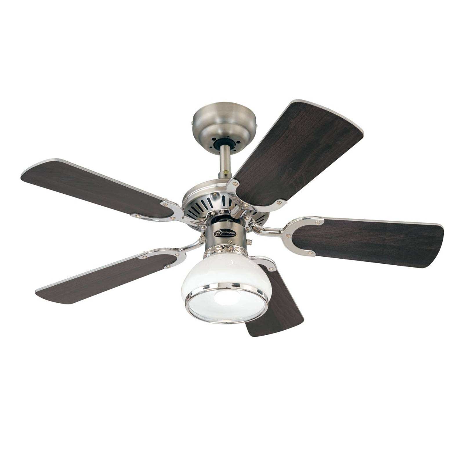 Princess Radiance ceiling fan with light from Westinghouse