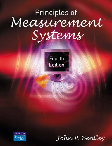 Principles of Measurement Systems from Pearson