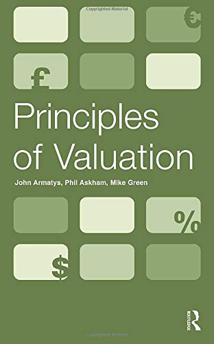 Principles of Valuation from Routledge