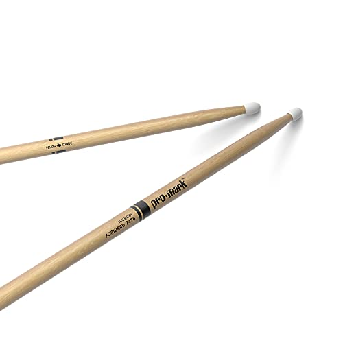 Pro Mark American Hickory 747B Super Rock Nylon Tip Drumsticks from ProMark