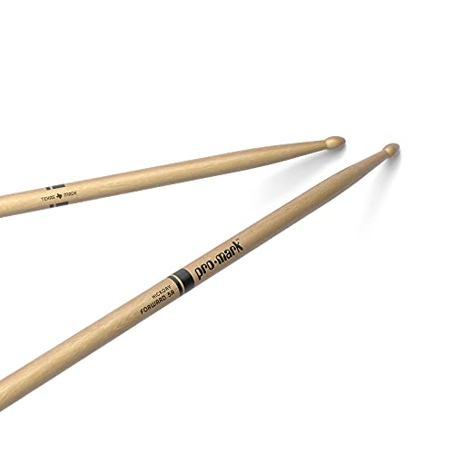 Pro Mark TX5AW - 5A Wood Tip Drumsticks, Natural from ProMark