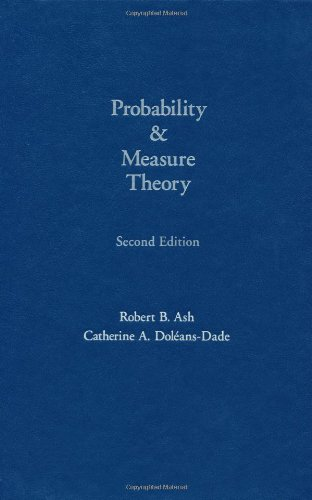 Probability and Measure Theory from Academic Press