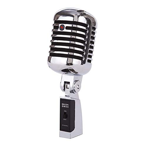 Proel DM55v2 Dynamic Vintage 'Elvis' Metal Microphone from PROEL