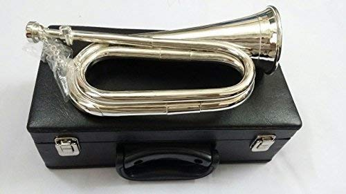 Professional Silver plated, Tuneable Bugle with Mouthpiece/Bb Tuneable Bugle from TC
