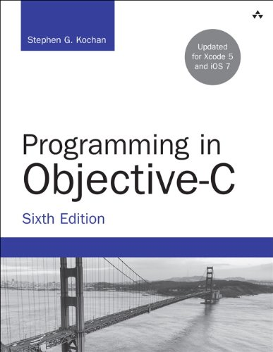 Programming in Objective-C (Developer's Library) from Addison-Wesley Professional