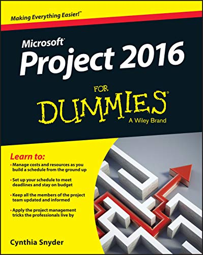 Project 2016 For Dummies from John Wiley & Sons Inc