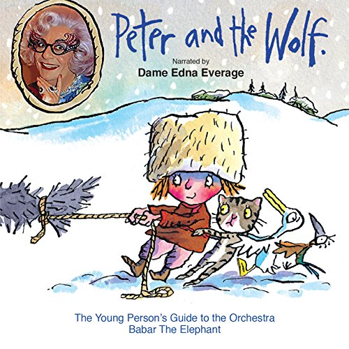 Prokofiev: Peter and the Wolf [Dame Edna Everage] [Naxos Children's Classics] from NAXOS