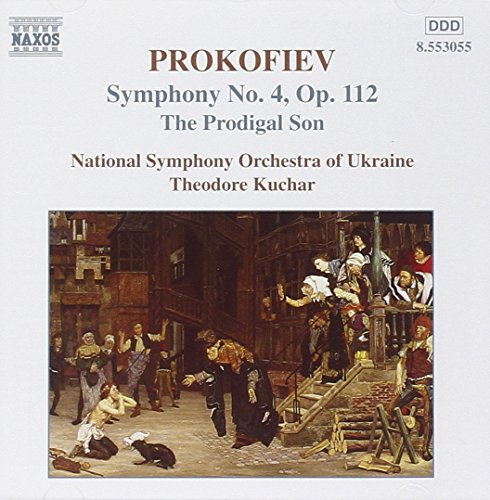 Prokofiev: Prodigal Son; Symphony No. 4 from NAXOS