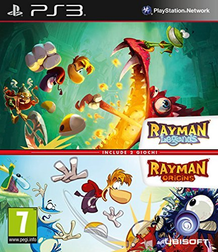 Rayman Legends and Origins (PS3) from Ubisoft