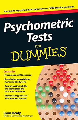 Psychometric Tests For Dummies from For Dummies