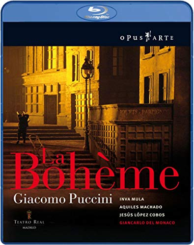 Puccini - La Boheme (Cobos, Chorus/Orch. of the Teatro Real) [Blu-ray] [2010] [Region Free] from Opus Arte