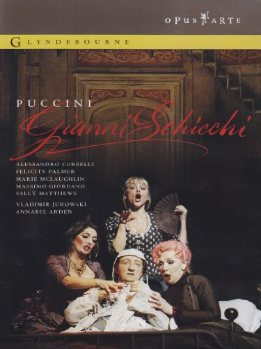 Puccini: Gianni Schicchi [DVD] [2004] [2010] from Opus Arte