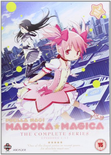 Puella Magi Madoka Magica Complete Series Collection [DVD] from Manga Entertainment