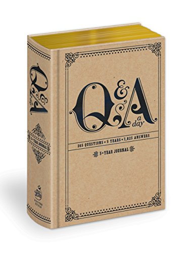 Q and A a Day: 5-Year Journal (Q&A a Day) from Potter Style