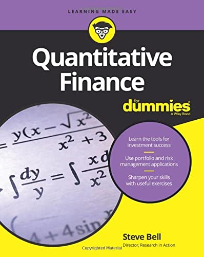 Quantitative Finance For Dummies from For Dummies