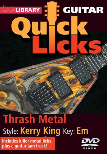 Quick Licks - Kerry King For Guitar from Hal Leonard