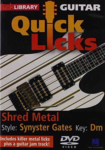 Quick Licks - Synyster Gates For Guitar from Hal Leonard