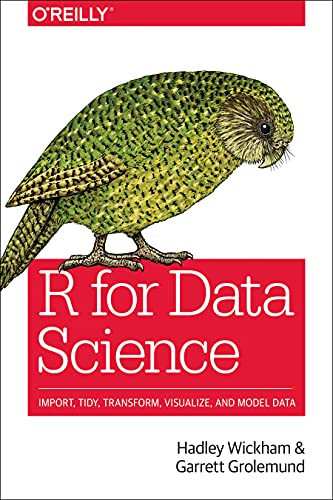 R for Data Science from O'Reilly Media
