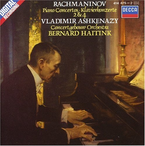 Rachmaninov: Piano Concertos Nos 2 & 4 from DECCA
