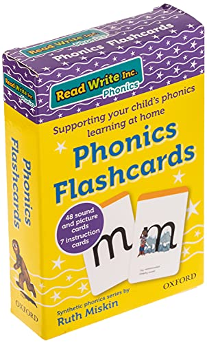 Read Write Inc. Home: Phonics Flashcards from Oxford University Press